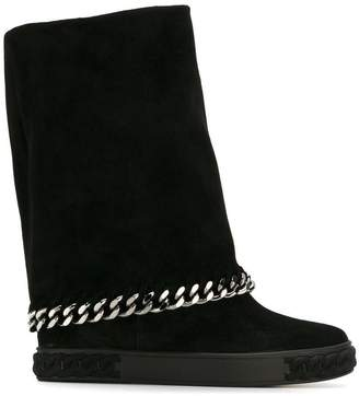Casadei chain detail 'Sneakers' boots
