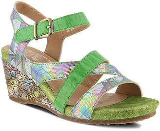 Spring Step L'Artiste by Leanna Wedge Sandal - Women's
