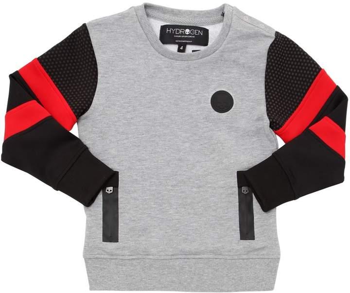 Cotton & Neoprene Sweatshirt