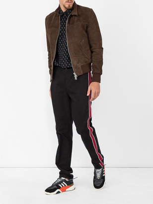 Ami Alexandre Mattiussi Zipped jacket harrington collar