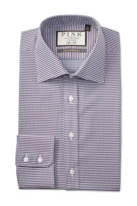 Thomas Pink Elmsmere Check Slim Fit Dress Shirt