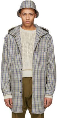 Acne Studios Navy Check Merves Jacket