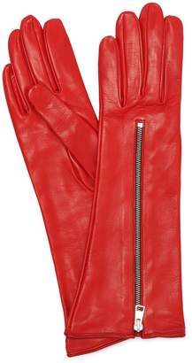 Portolano Mario Zipped Mid Leather Gloves