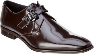 Versace Medusa Brushed Leather Loafer