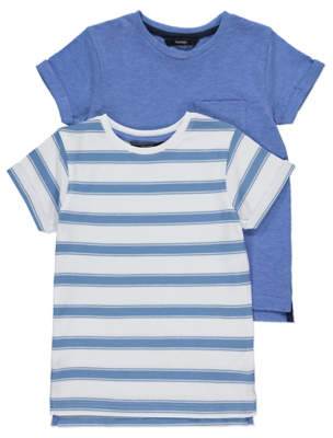 George Striped T-Shirts 2 Pack