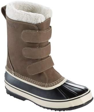 L.L. Bean L.L.Bean LLBean Snow Boot Hook & Loop Suede Men's