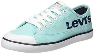 Levi's Unisex Adults' Venice L Low-Top Sneakers, (Light Blue), 39 EU