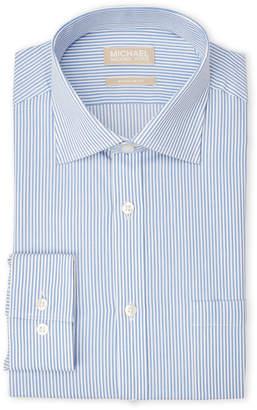 MICHAEL Michael Kors Stripe Regular Fit Dress Shirt