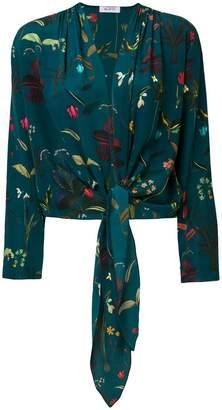 AILANTO floral tied jacket