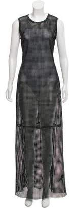 BLK DNM Leather Maxi Dress