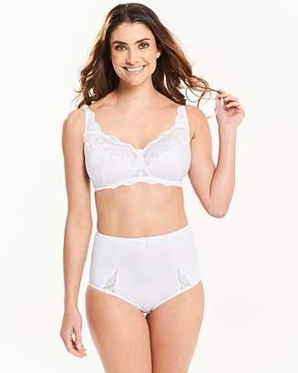 Pretty Secrets Ruby Non Wired White Bra