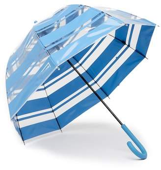 Hunter Dulse Wave Print Bubble Umbrella