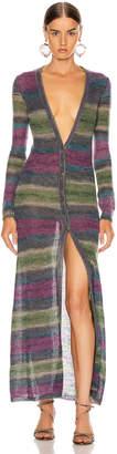 Jacquemus Gilet Dress in Stripe Purple   FWRD