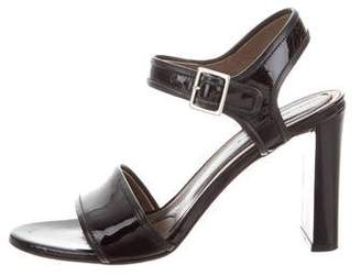 Marni Patent Leather Ankle Strap Sandals