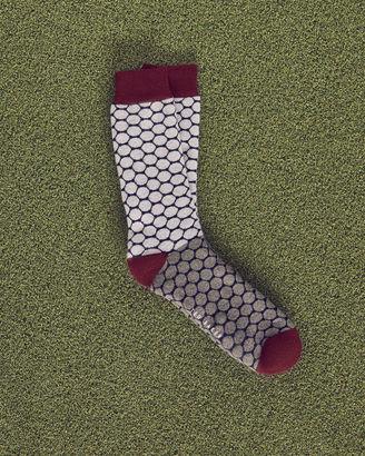 Golf ball pattern cotton socks $29 thestylecure.com