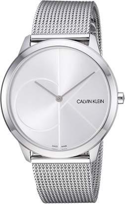 Calvin Klein Minimal Watch - K3M2112Z Watches