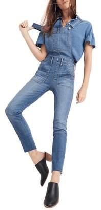 Madewell Skinny Denim Overalls