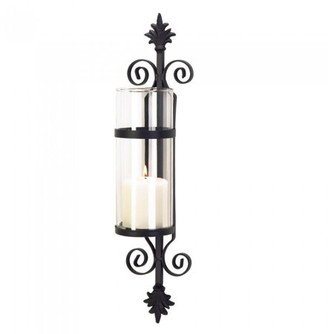 Gallery of Light ORNATE SCROLL CANDLE SCONCE