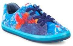 Camper Girl's Multicolored Low-Top Sneakers