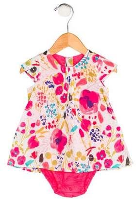 Catimini Girls' Floral Print All-In-One w/ Tags