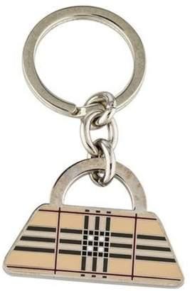 Burberry Nova Check Candy Keychain Beige Nova Check Candy Keychain