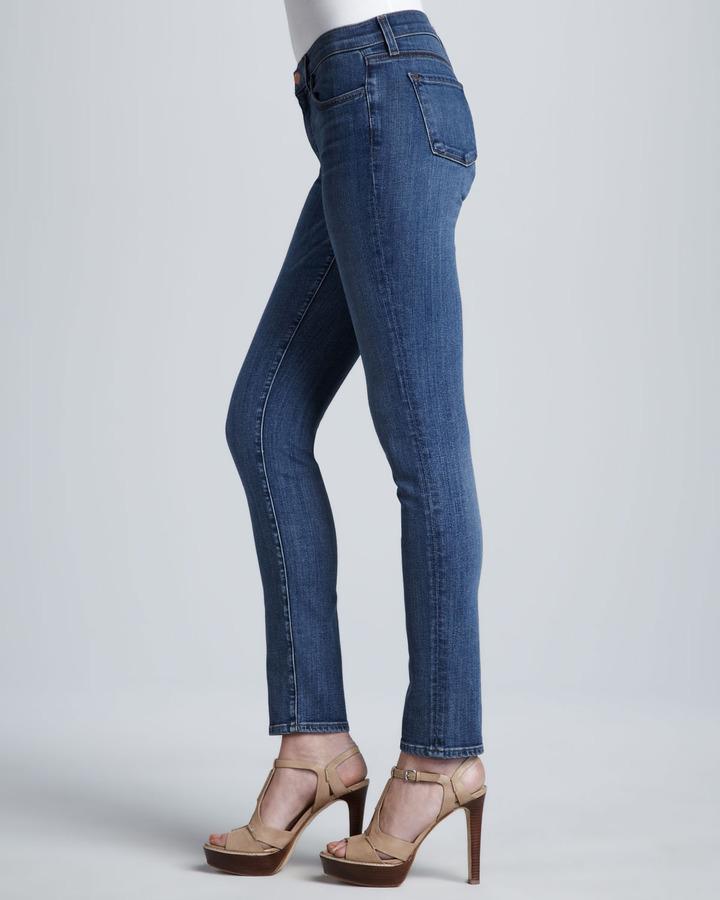 J Brand Jeans 811 Mid-Rise Skinny Leg Jeans