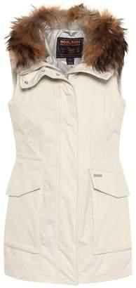 Woolrich Fur-trimmed vest