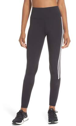 adidas Believe This 3-Stripes High Waist Ankle Leggings
