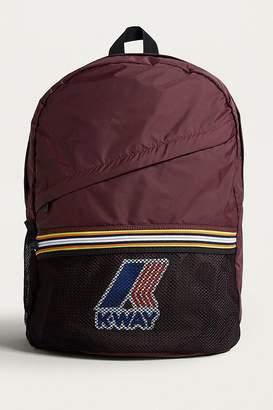 K-Way Burgundy Packable Backpack