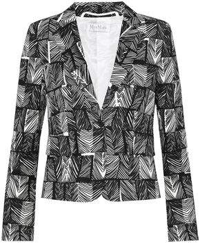 Max Mara Faglia Cotton-Blend Jacquard Jacket