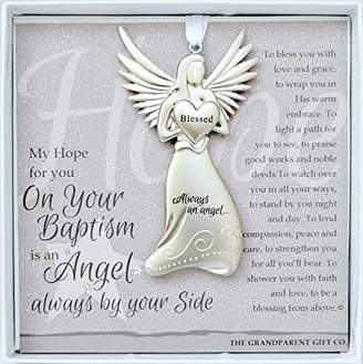 Grandparent Gift Co. The The Grandparent Gift Baptism Keepsake Angel