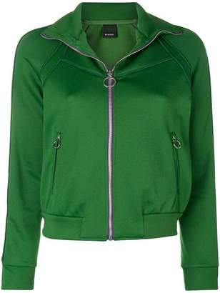Pinko side stripe zip jacket
