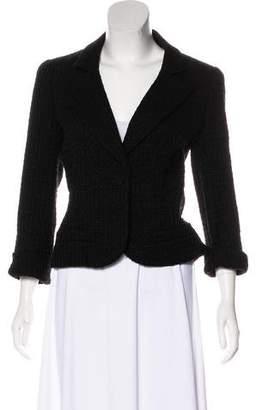 Chanel Metallic Tweed Blazer