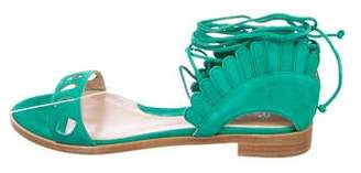 Paula Cademartori Lotus Cutout Sandals