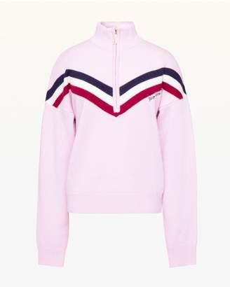 Juicy Couture Cashmere Half Zip Pullover