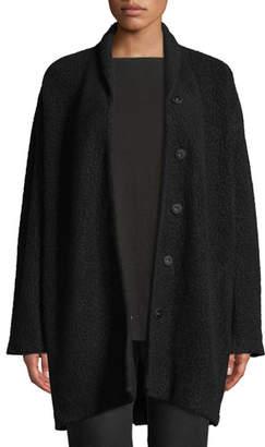 Eileen Fisher Felted Wool Boucle Jacket