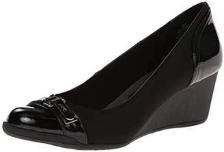 Anne Klein Sport Women's Tamarow Fabric Wedge Pump
