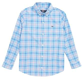 Vineyard Vines Stoney Hill Plaid Whale Shirt
