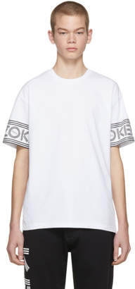Kenzo White Logo Sport T-Shirt