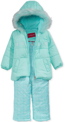 London Fog 2-Pc. Hooded Jacket & Snow Pants Set, Toddler Girls (2T-5T) $110 thestylecure.com