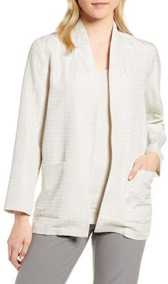 Eileen Fisher Silk Blend Kimono Jacket (Regular & Petite)