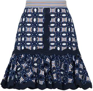 Alexis Embroidered Sheila Skirt