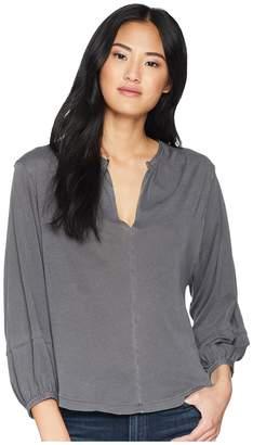 Splendid Vintage Whisper Blouse Women's Long Sleeve Pullover