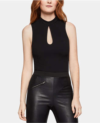 BCBGeneration Mock-Neck Keyhole Bodysuit