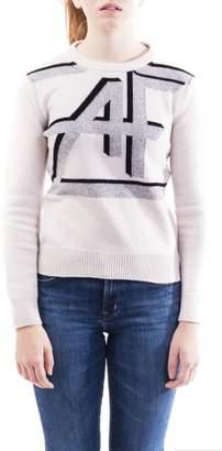 Alberta Ferretti In Virgin Wool And Cashmere Blend Sweater