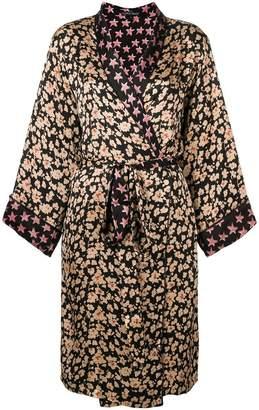 Love Stories floral print robe