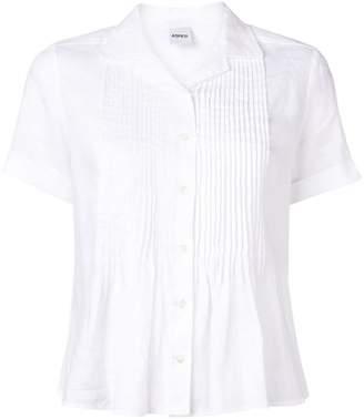 Aspesi pleated short-sleeved shirt