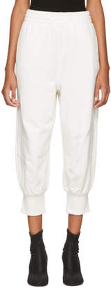 MM6 MAISON MARGIELA White Jersey Lounge Pants