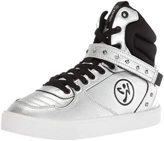 Zumba Women's Street Fashion High Top Dance Workout Sneakers