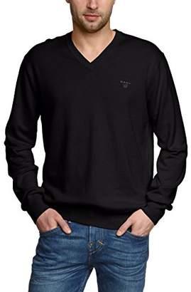Gant Men's Lightweight Cotton V-Neck Sweater